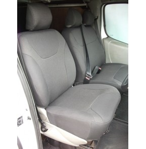 Renault Traffic minibus seat covers- 9 seater-made to measure in cloth seating fabric